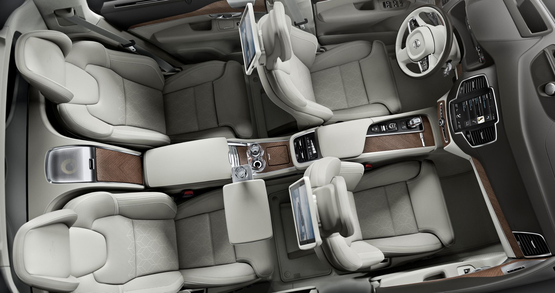 First Class reisen auf vier Sitzen: Luxus pur im Volvo XC90 Excellence