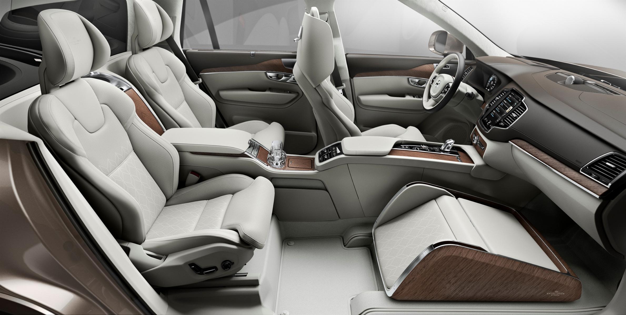 - Volvo Lounge Console: Konzept zeigt luxuriösen und ...