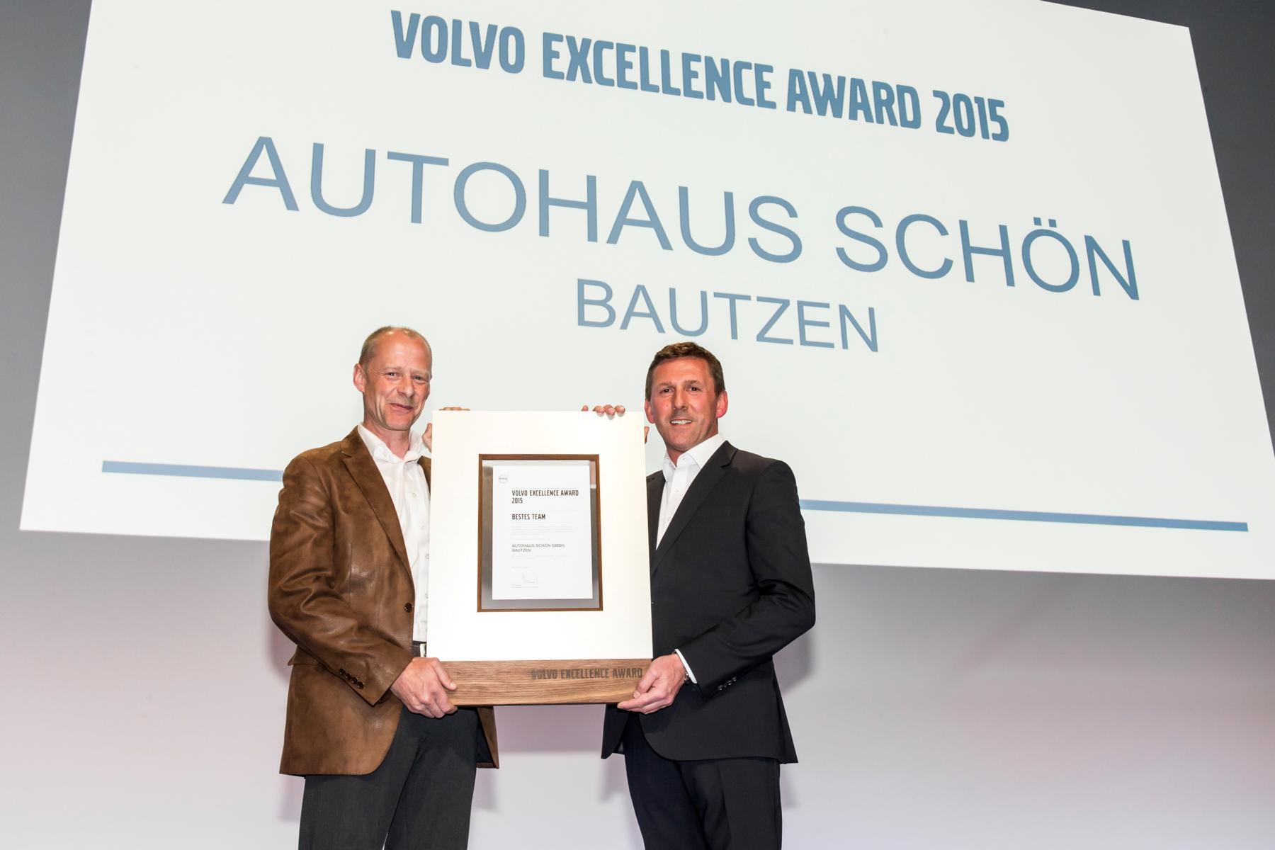 - Autohaus Schön aus Bautzen gewinnt Volvo Excellence ...
