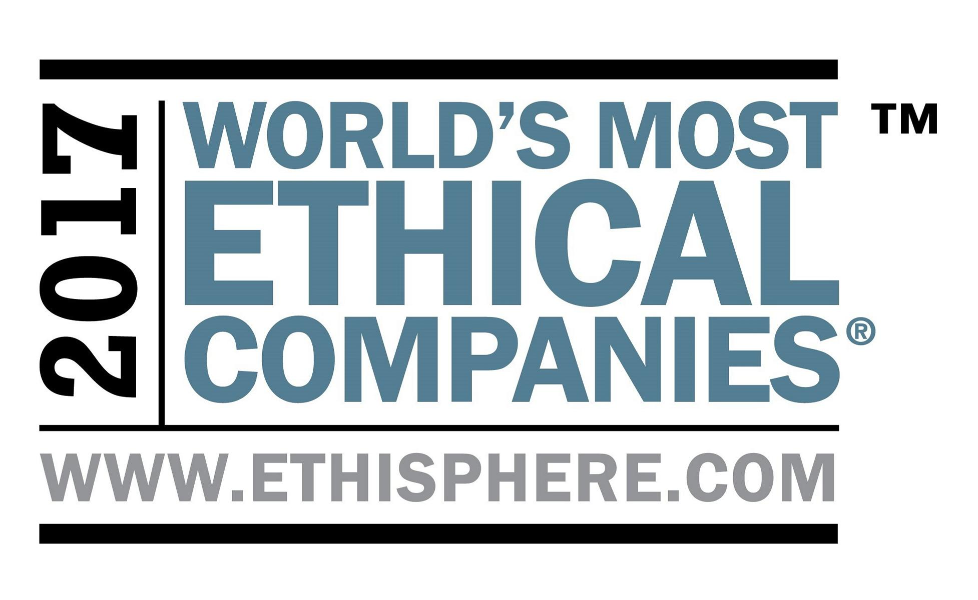 K1600 206679 2017 World s Most Ethical Companies logotype