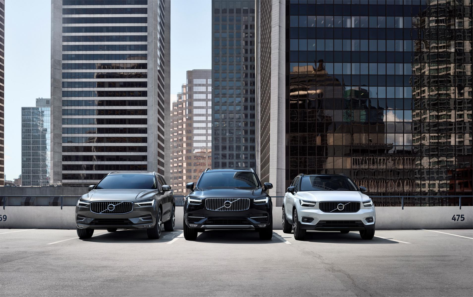220661 Volvo Cars SUV line up
