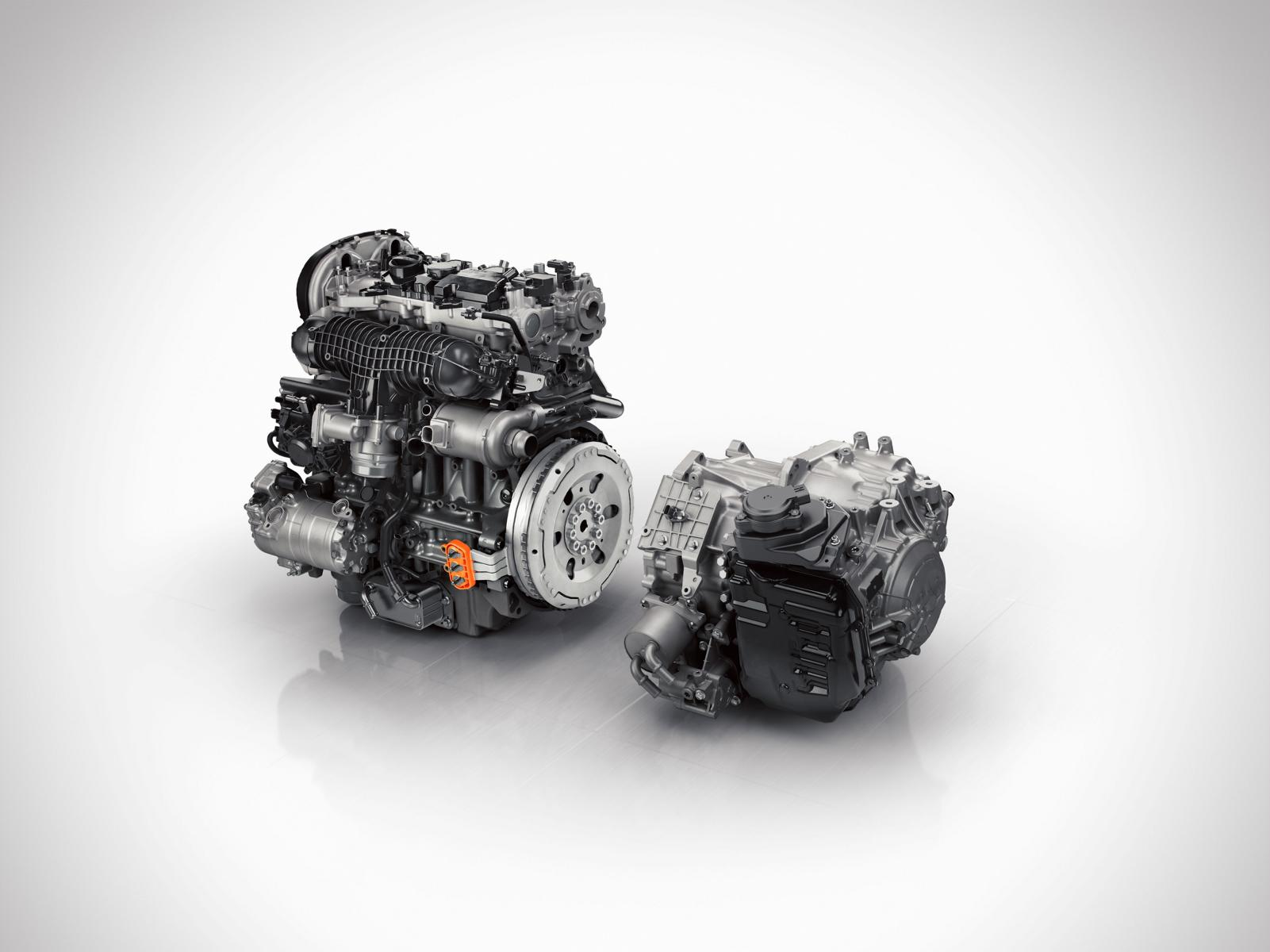 147970 Volvo XC90 Twin Engine Antriebsstrang