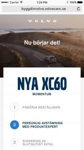 K1600 207878 K p din Volvobil hemma i soffan Volvo Car Sverige lanserar digital bilf rs