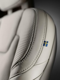 K1600 170089 Close up Volvo S90 seat Made by Sweden