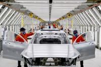 K1600 199979 Vorserienproduktion des Volvo S90 im chinesischen Volvo Werk Daqing