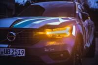 234264 Graffiti K nstler Ren Turrek verwandelt neuen Volvo XC40 in audiovisuelles
