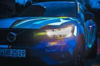 234265 Graffiti K nstler Ren Turrek verwandelt neuen Volvo XC40 in audiovisuelles