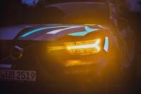 234266 Graffiti K nstler Ren Turrek verwandelt neuen Volvo XC40 in audiovisuelles