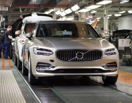K1600 193270 Start of production of new Volvo V90 premium estate