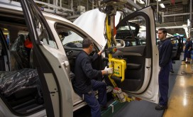 K1600 155252 Pre production of the all new Volvo XC90 in Torslanda