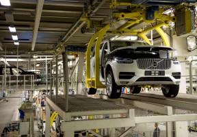 K1600 155251 Pre production of the all new Volvo XC90 in Torslanda