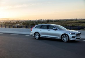 K1600 191757 New Volvo V90 location driving
