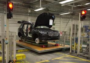 K1600 155245 Pre production of the all new Volvo XC90 in Torslanda