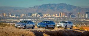 K1600 146468 Volvo S60 links Volvo V60 Mitte und Volvo XC60 rechts