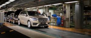 K1600 155258 Pre production of the all new Volvo XC90 in Torslanda