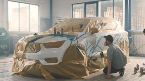 234254 Graffiti K nstler Ren Turrek verwandelt neuen Volvo XC40 in audiovisuelles
