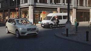 K1600 155715 Fahrradhelm und Fahrzeug miteinander vernetzt Volvo und POC pr sentieren