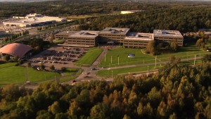 K1600 35612 Volvo Cars Headquarters Gothenburg Sweden Aerial Shot