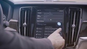 K1600 201913 Skype for Business von Microsoft in der Volvo 90er Baureihe