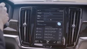K1600 201914 Skype for Business von Microsoft in der Volvo 90er Baureihe