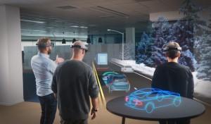 K1600 169761 HoloLens Demonstration von Volvo und Microsoft
