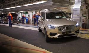 K1600 155259 Pre production of the all new Volvo XC90 in Torslanda