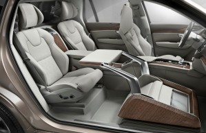 K1600 161514 Volvo XC90 Excellence Lounge Console