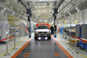 K1600 154313 The Volvo Cars manufacturing plant in Daqing China