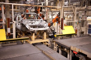 K1600 34717 The production of the new V60 started 2010 in the Torslanda plant