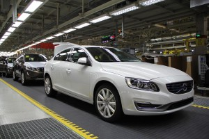 K1600 154379 Production of the Volvo S60L and XC60 at the plant in Chengdu China