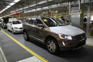 K1600 154380 Production of the Volvo S60L and XC60 at the plant in Chengdu China