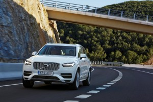 K1600 157807 The new Volvo XC90 T8 Twin Engine petrol plug in hybrid driven in Tarragona