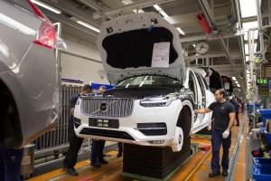 K1600 155249 Pre production of the all new Volvo XC90 in Torslanda