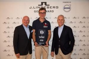 K1600 167856 Finalsieger des J Lindeberg Golf Award powered by Volvo 2015