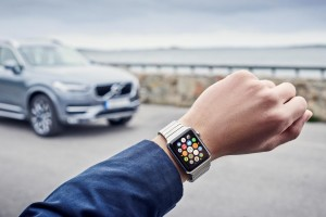 K1600 163153 Volvo on Call App auf einer Apple Watch