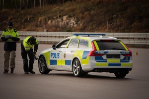 K1600 201322 Volvo V90 as a police car