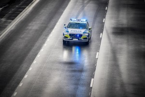 K1600 201323 Volvo V90 as a police car
