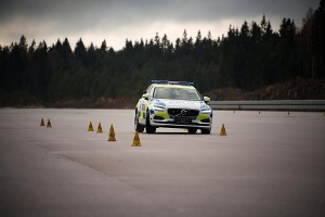 K1600 201325 Volvo V90 as a police car