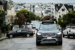 K1600 201688 Uber startet Pilotprogramm mit selbstfahrenden Volvo XC90 in San Francisco