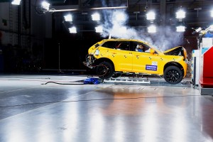 K1600 205039 The new Volvo XC60 Crash tests