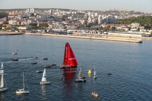 K1600 216358 Volvo Ocean Race 2017 18 Vestas 11th Hour Racing gewinnt Auftaktetappe