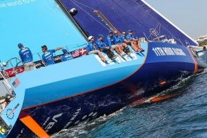 K1600 216361 Volvo Ocean Race 2017 18 Vestas 11th Hour Racing gewinnt Auftaktetappe