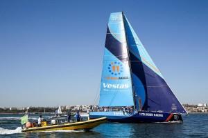 K1600 216362 Volvo Ocean Race 2017 18 Vestas 11th Hour Racing gewinnt Auftaktetappe