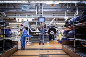 K1600 216920 Pre production of the new Volvo XC40 in the manufacturing plant in Ghent