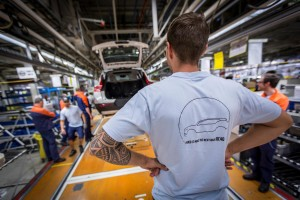 K1600 216921 Pre production of the new Volvo XC40 in the manufacturing plant in Ghent