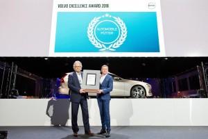 230542 Verleihung Volvo Excellence Award 2018