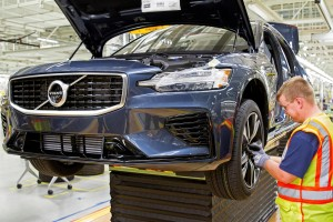 230917 Volvo s new manufacturing plant in South Carolina USA