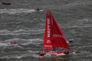 234321 Dongfeng Race Team gewinnt das Volvo Ocean Race 2017 18