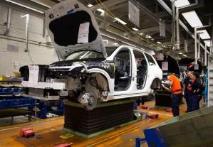 K1600 155247 Pre production of the all new Volvo XC90 in Torslanda