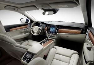 K1600 170161 Interior cockpit Volvo S90 V90 blond